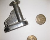 Vintage Notary Stamp Seal Punch and two Dies