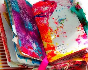 Printable Traveler's Notebook Insert & Faith Art Journal + scripture verse - Standard sized Midori TN for bible journaling or bullet journal