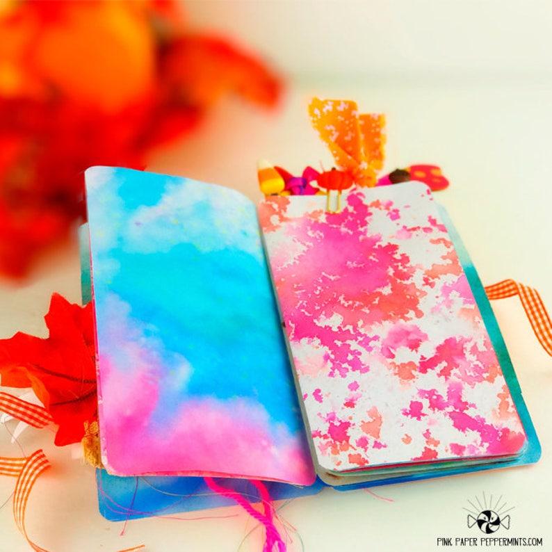 Use as a Thanksgiving Gratitude Prayer Journal or for Bible Journaling Printable Standard Sized Traveler/'s Notebook Insert for Fauxdori