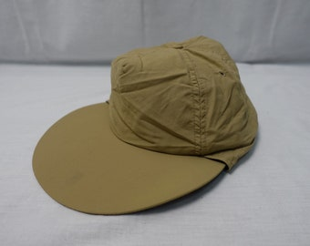 ca6afc9cd4d8a Vintage COLUMBIA SPORTSWEAR Sun Sport HAT 5 Panel Nylon Fishing Cap Long  Duckbill
