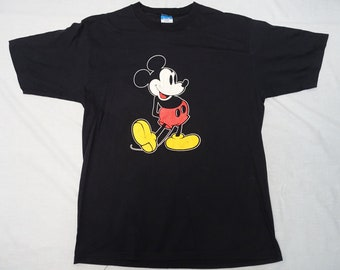 0d2ab2d63 Vintage MICKEY MOUSE T-shirt Holiday Vacation Souvenir Shirt Adult Sz-XL  Disney World Disneyland