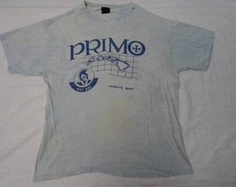 2d830d4f7 Vintage PRIMO BEER T-shirt Hawaiian Island 70's Shirt Hawaii Logo Souvenir  Vacation