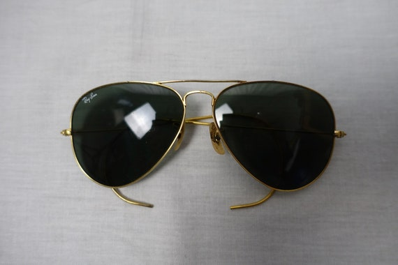 80's RAY-BAN AVIATOR Bausch & Lomb Vintage Sport S