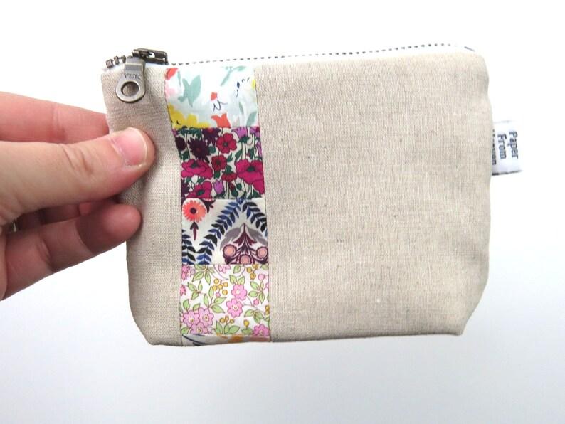 Zipper Pouch ITY-BITY  London  mini change pouch essential image 0