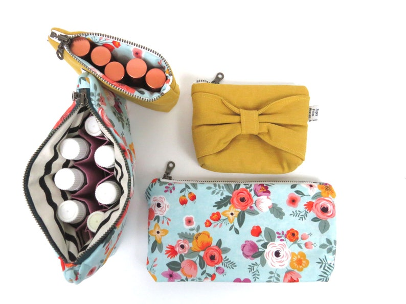 Essential Oil Bag SET  Packed Flower  Floral Essential Oil image 0