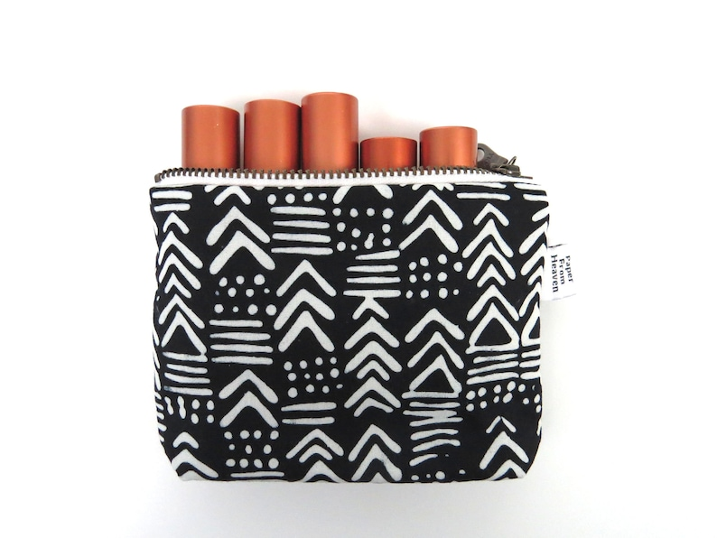 Zipper Pouch ITY-BITY  Painted Geo  mini change pouch image 0