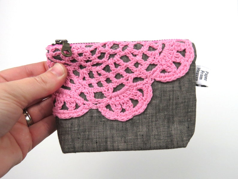 Zipper Pouch ITY-BITY  Doily  mini change pouch essential image 0