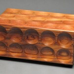 Unique Bolivian Rosewood Jewelry Box