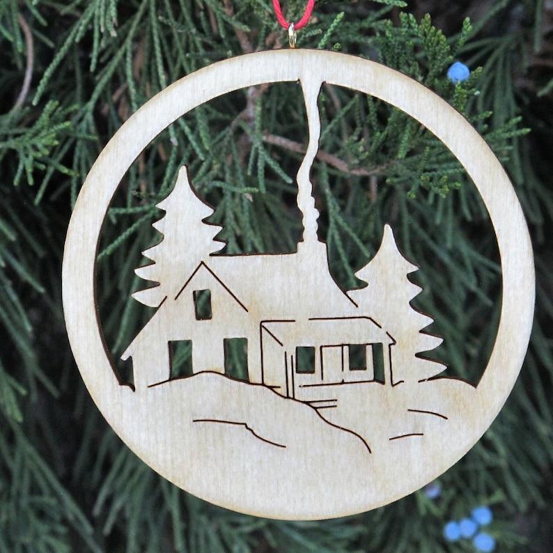 Rocky Mountain Themed Christmas Ornaments handmade in Colorado image 0