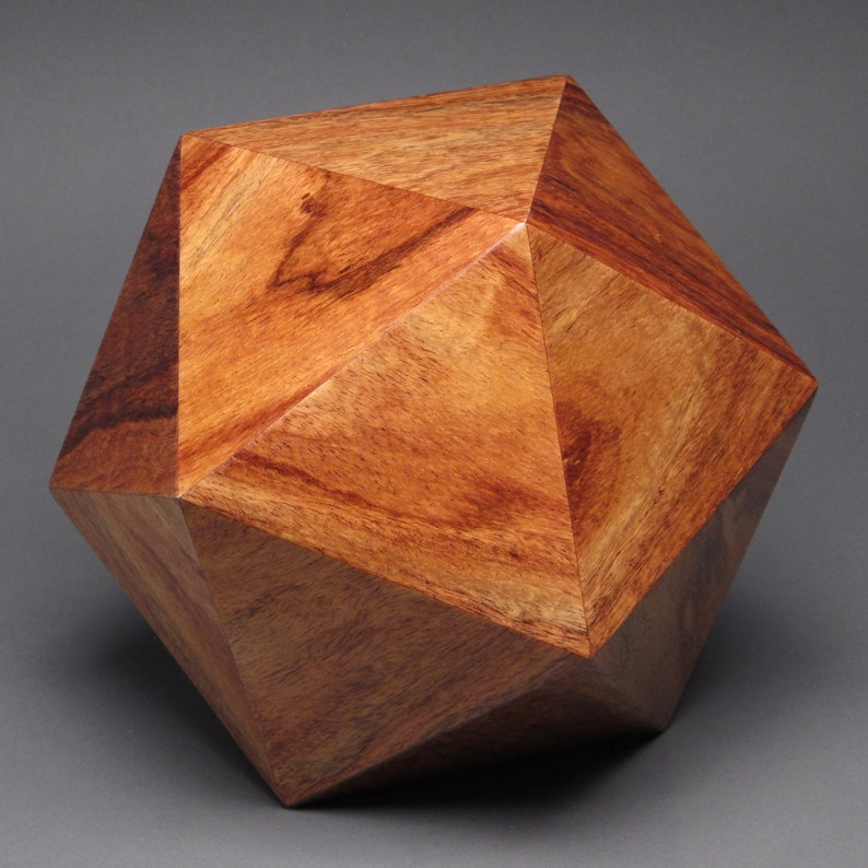 Contemporary Cremation Urn for Adult Human Ashes up to 225 Curatinga Rosewood