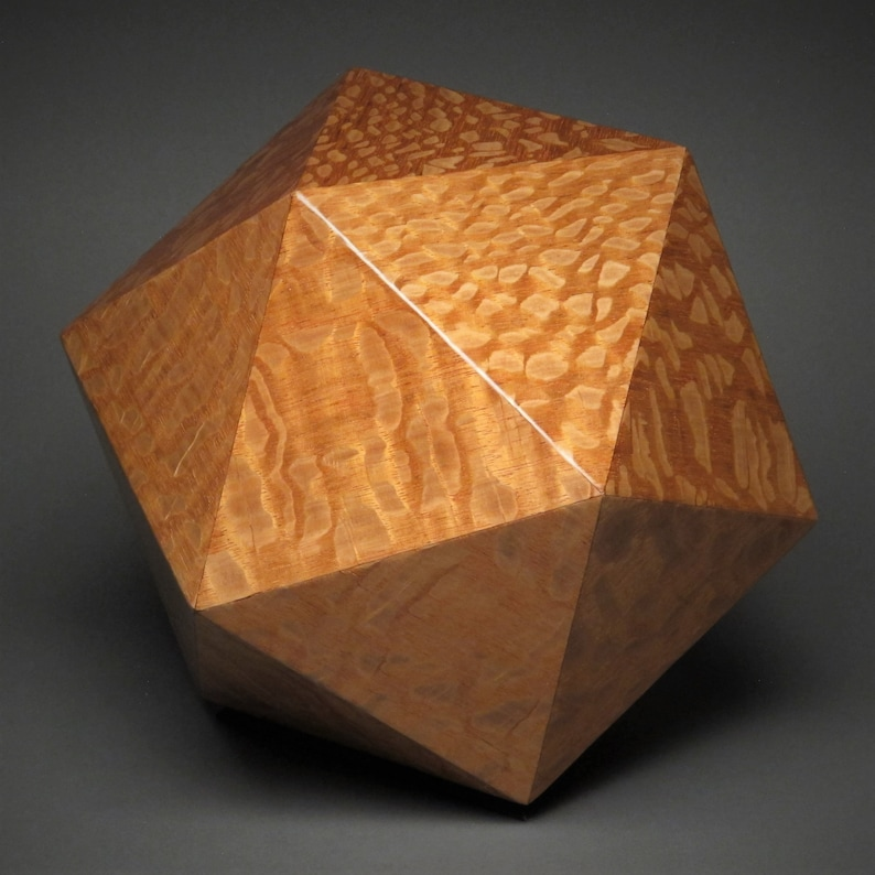 Contemporary Cremation Urn for Adult Human Ashes Aust. Lacewood