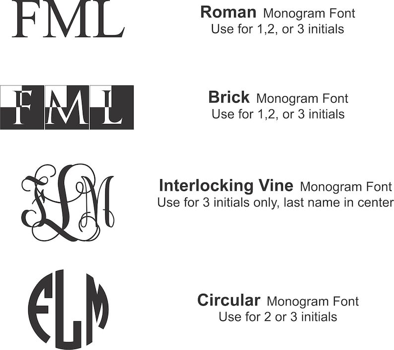Personalized Monogram Engraving Addon for Your Box Purchase image 0