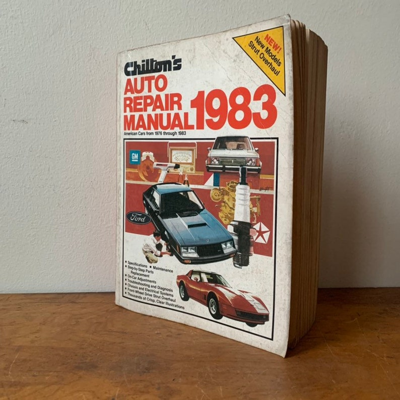 automotive repair and maintenance book