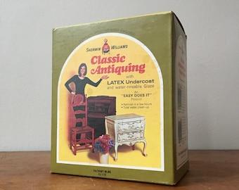 Vintage Sherwin Williams Classic Antiquing Paint Kit