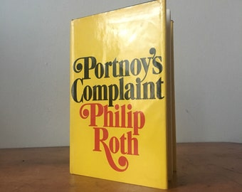 1969 Portnoy's Complaint by Philip Roth. HCB.