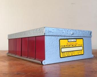 Vintage Kodaslide Compartment File with Over 40 Slides