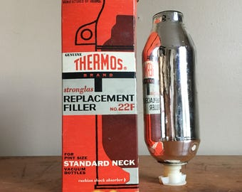 Vintage Thermos Stronglas  Replacement Filler. No. 22F