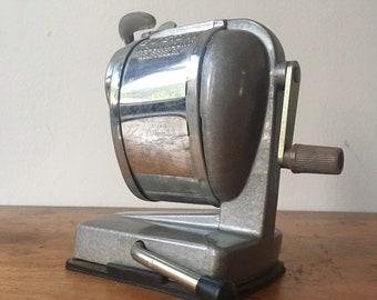 Vintage Boston Sharpener with Suction Base.