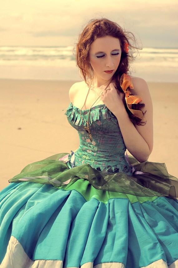 Custom Mini Hoop Mad World Dress Alice in Wonderland | Etsy
