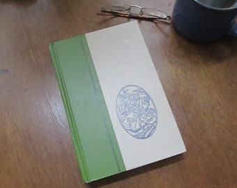 Under the Lilacs by Louisa May Alcott –Illustrated by Ruth Ives -Vintage Green Hardcover Book Series – Nelson Doubleday Inc.