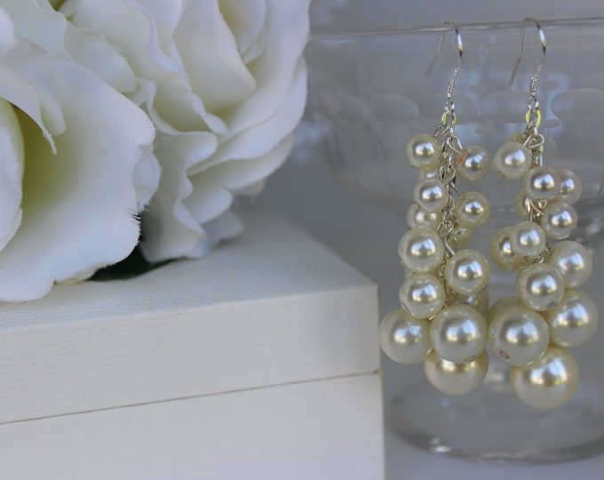 Statement Bridal Earrings.