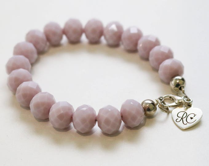 RC Signature Bracelet in Opaque Light Purple.