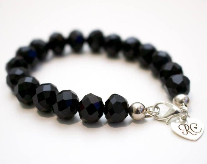 RC Signature Bracelet in Timeless Black.