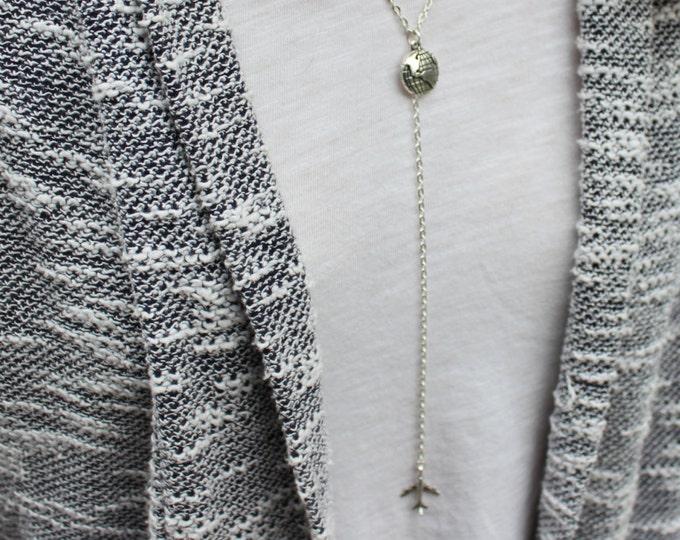 Wanderlust Drop Chain Necklace.