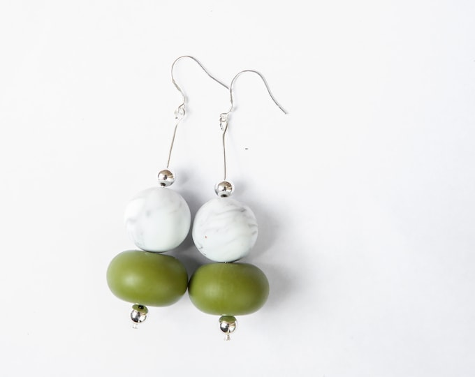 The Khaki Collection | The Captain Earrings.