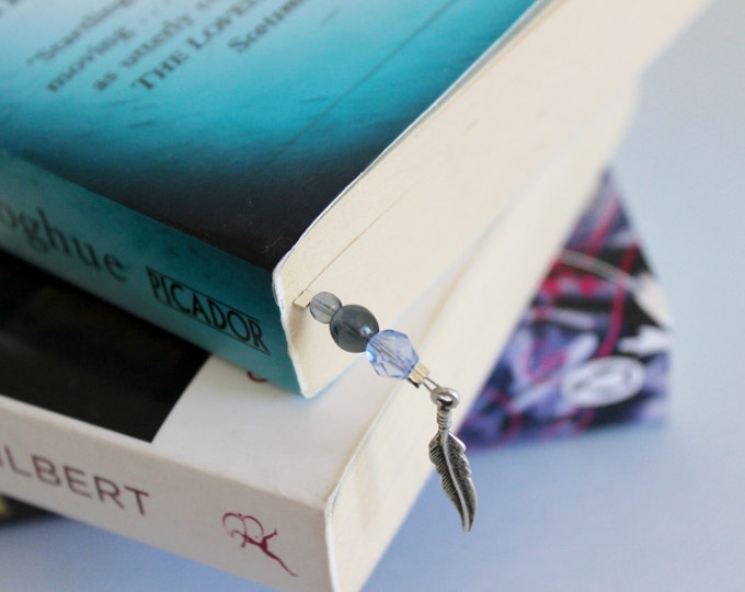 Beaded Bookmark designed in collaboration with @Accio_Library