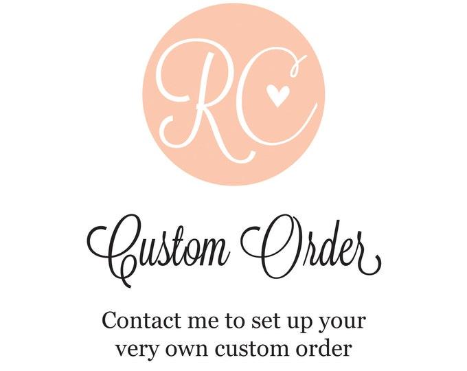 Custom Lanyard ORDER