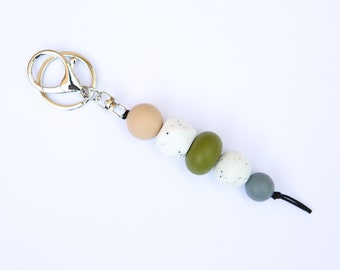 The Khaki Collection   The Yes Sir Keyring, Silicone Keyring.