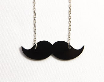 MOVEMBER Put your moustache on necklace