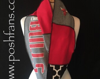 Chicago Bulls Infinity Scarf