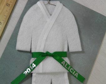 Taekwondo Christmas Ornaments