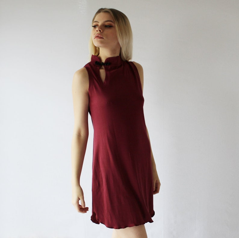 Womens Bamboo and Cotton Sleepwear Tunic Nightgown Chemise image 0