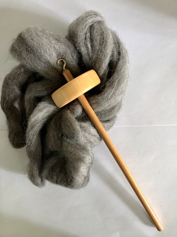 Alpaca Fiber Yarn Spinning Kit
