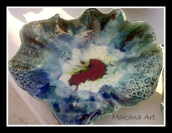 Brilliant Volcano Bowl - Made to Order  -  pottery gifts - handmade gifts - housewarming gift ideas - engagement gift ideas