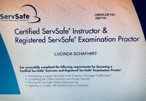 ServSafe Food Manager Certification and Proctored Exam at Makana Art ...