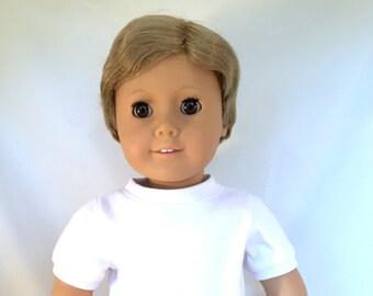 American Girl Boy Doll, He is a Blonde with Brown Eyes OOAK