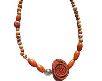 Orange peels jewelry