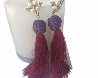 Tassels/Feather Earrings
