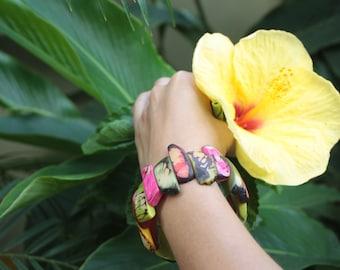 Raw rustic Tagua bracelets/ Spiked bracelets/ Claws bracelets/ Colorful Bracelets/ Boho Bracelets/ Handmade bracelets/Custom made jewelry