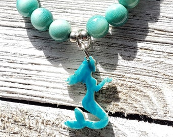Ocean love bracelets/ marine bracelet/ mermaid bracelet /sea shell bracelet by Allie