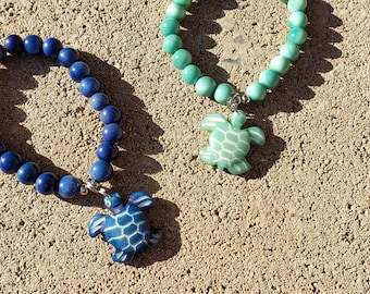 Ocean love bracelets/ marine life tagua bracelets sharks, sea turtles, sea shell, whale tail / sea star/  sea horse/dolphin