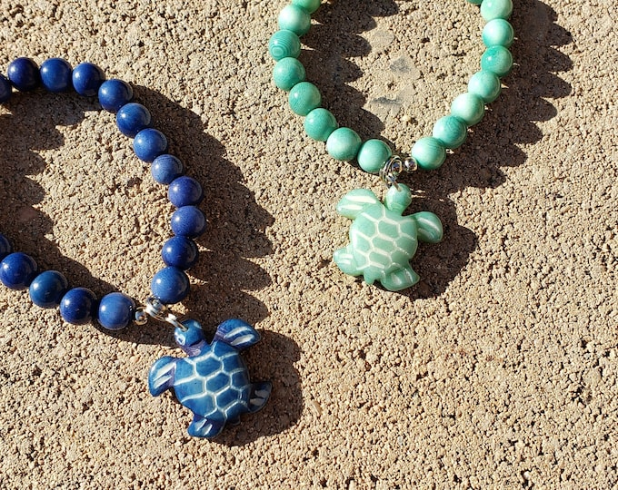 Featured listing image: Beaded bracelets/ Beach TAGUA jewelry/Sea turtle bracelet/Seahorse bracelet/Dolphin bracelet/ sea star bracelet/ shark bracelet