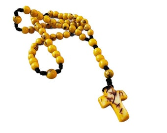 Tagua nut Catholic rosary/Colorful rosaries/ Faith Gifts/ Inspirational Gifts/Eco organic rosaries/Religious gifts