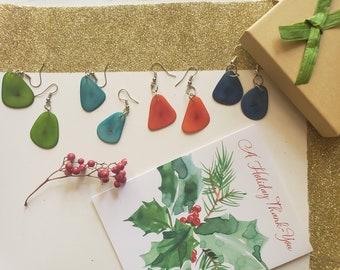 Tagua Dangle Earring /Simple earrings/Everyday Earrings/ Dainty earrings/ Simple earrings/Tagua Petals earrings/Whimsical delicate earrings