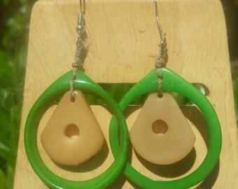 Avocado earrings designed for Avocado Festival in Fallbrook