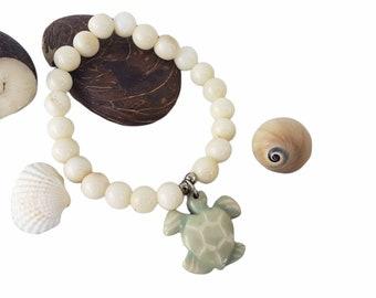 Beach TAGUA jewelry/Marine life bracelet/ turtle bracelet/Seahorse bracelet/Dolphin bracelet/ sea star bracelet/ shark bracelet/ocean jewels